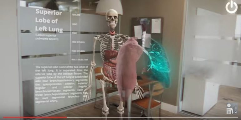 Realidad aumentada y realidad virtual en anatomía. Llegan avances ...